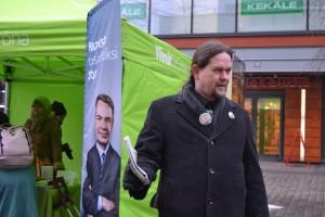 Petri tekee Pekka Haaviston presidentinvaalikampanjaa 2012